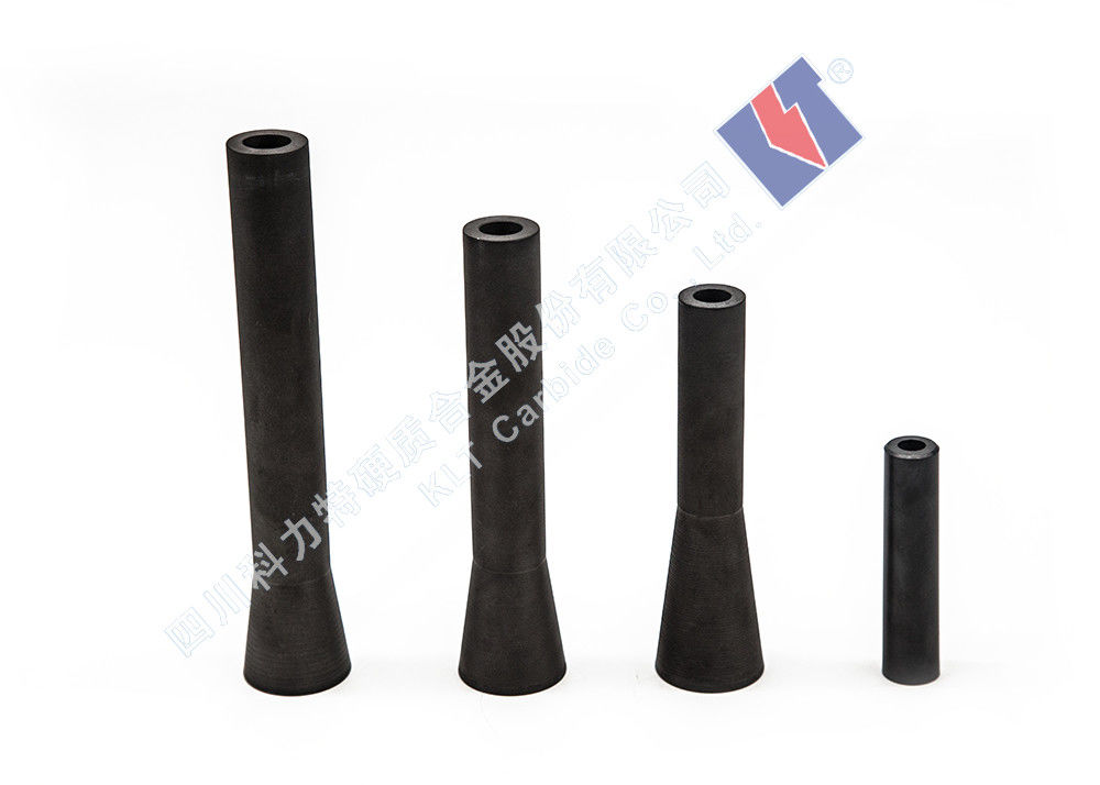 Various Sizes Silicon Carbide Nozzle Abrasive Blasting Nozzles Thermal Shock Resistance
