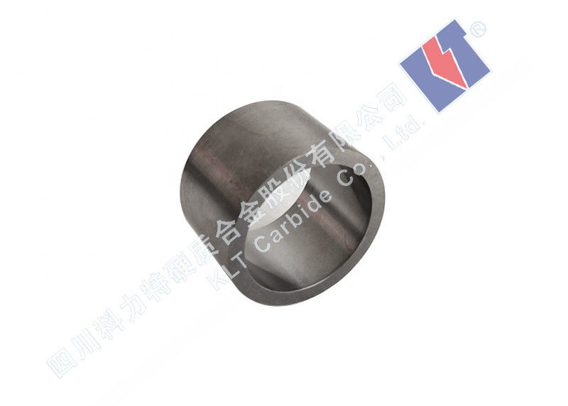 Good Toughness Tungsten Carbide Tube Water Pump Shaft Sleeve Customized Surface