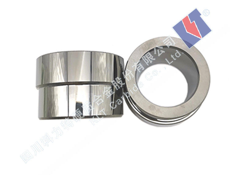 100% Raw Wc+Co/Ni Tungsten Carbide Sleeve Low Friction Coefficient