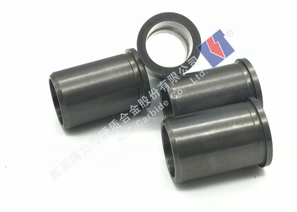 High Performance Tungsten Carbide Bushings For Oil Pumps Abrasion Resistance