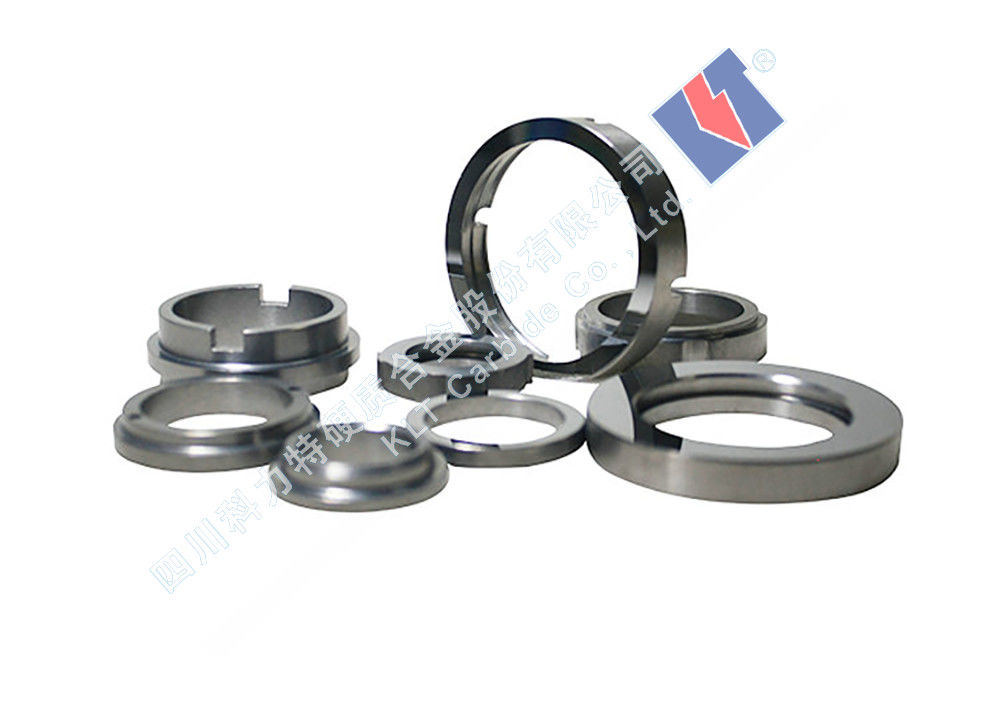 Nonstandard  Tungsten Carbide Bearings For Water Pump O Shaped Acid Resistance