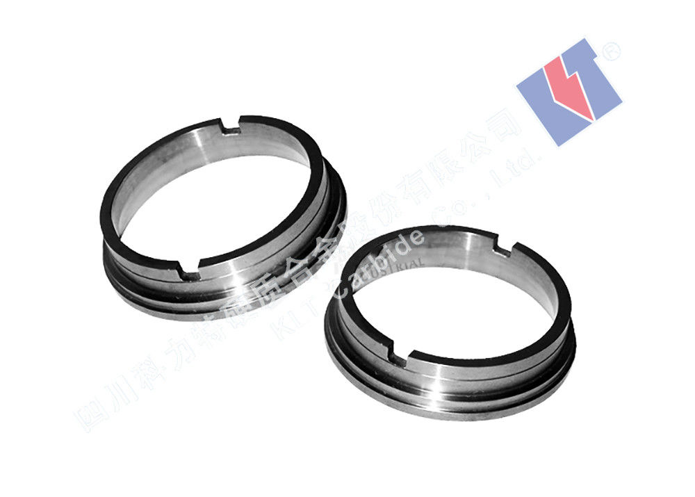 Yg6/Yg8/Yg10 Tungsten Carbide Seal Rings Customized Size Wear Resistance